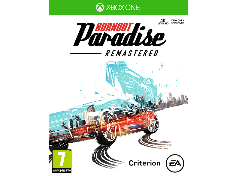 Burnout Paradise Remastered Xbox One gaming games xbox one games