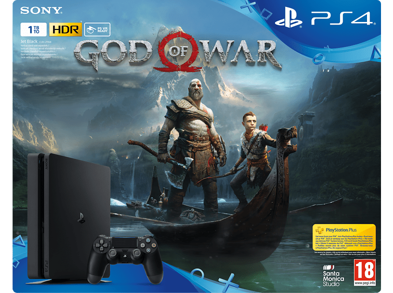SONY PS4 1TB God Of War Edition