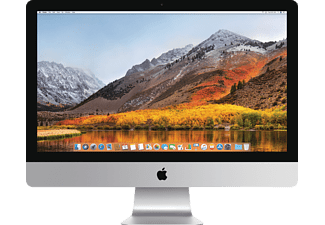 APPLE iMac mit US-Tastatur, All-in-One PC mit 27 Zoll Display, Core i5 Prozessor, 8 GB RAM, 256 GB Flash, Radeon Pro 570, Silber