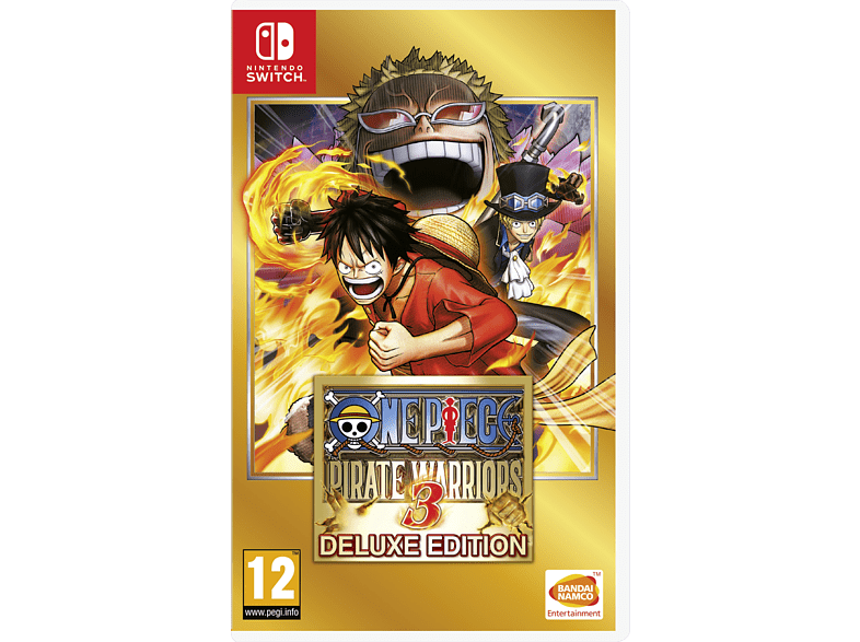 One Piece: Pirate Warriors 3 Deluxe Edition Switch gaming games switch games