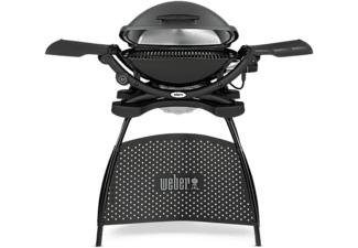 Weber Elektrogrill Q 2400 : Weber elektrogrill q mit stand in dark grey saturn