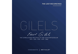 Emil Gilels - The Unreleased Recitals At The Concertgebouw 1975 [CD]