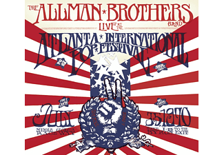 Allman Brothers Band - Live At The Atlanta (DeluxeEdition) (Vinyl LP (nagylemez))