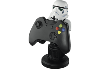 AMS Cable Guy StarWars Storm Trooper Controller- oder Phonehalterung, Weiß/Schwarz