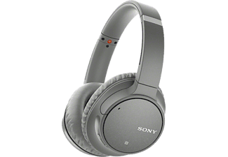 Sony WH-CH700N Oordopjes On Ear Bluetooth Grijs Headset, Ruisonderdrukking