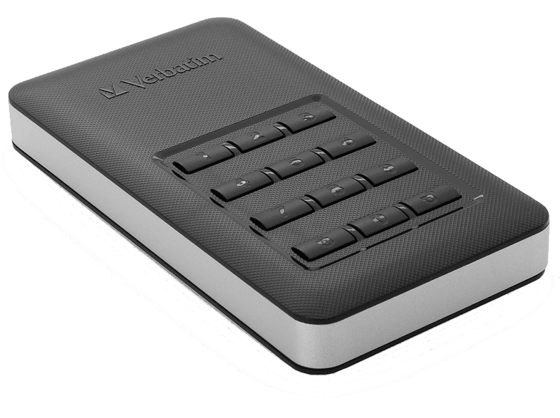 VERBATIM Store n Go Portable SSD 256GB with Keypad Access laptop  tablet  computing  αποθήκευση δεδομένων δίσκοι εξωτερικοί 2 5