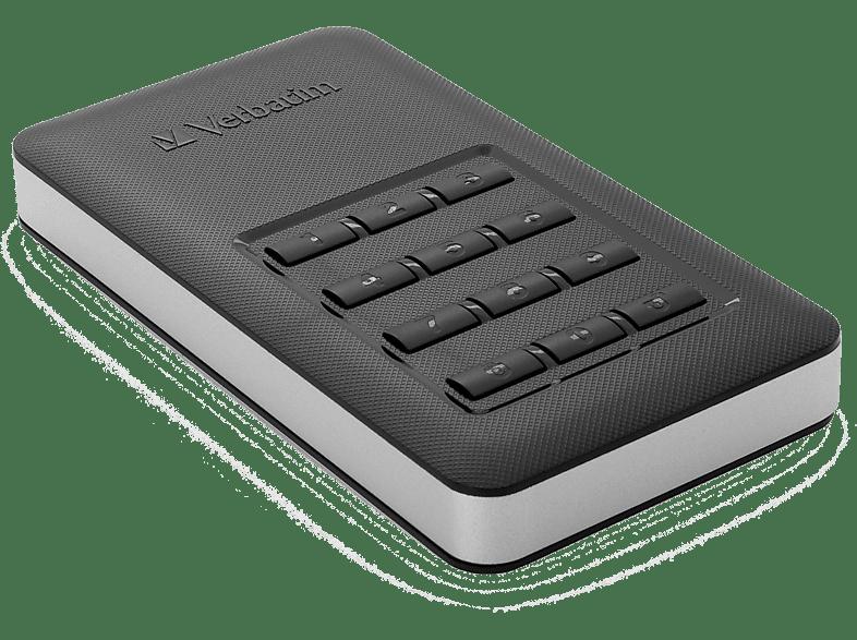 VERBATIM Store n Go Portable SSD 256GB with Keypad Access laptop  tablet  computing  αποθήκευση δεδομένων δίσκοι εξωτερικοί 2 5