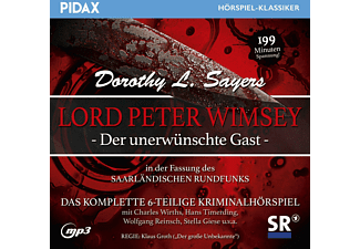 Lord Peter Wimsey: Der unerwuenschte Gast - (MP3-CD)