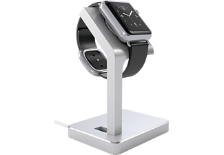 SATECHI Aluminum Apple Watch Stand Laddningsstativ - Silver
