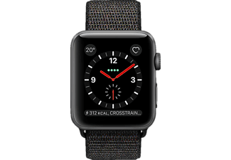 APPLE  Sport Loop Smartwatch Aluminium Nylon, 145 - 220 mm, Space Grey