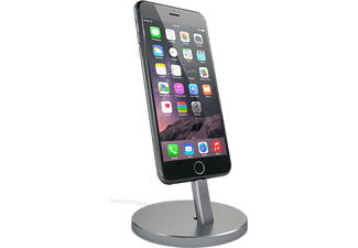 SATECHI Aluminium iPhone Stand Laddningsstativ till iPhone - Space Grey
