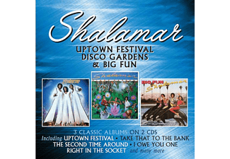 Shalamar - Uptown Festival / Disco Gardens / Big Fun [CD]