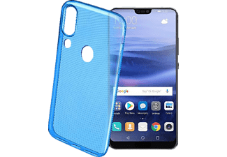 COLOR CASE Backcover Huawei P20 Lite Thermoplastisches Polyurethan Blau