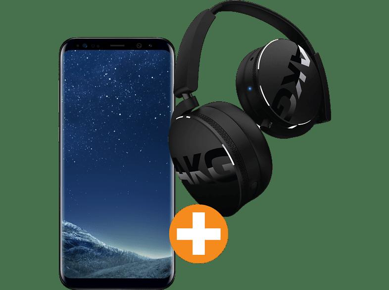 [saturn.at] Samsung Galaxy S8 + AKG Y50BT Kopfhörer um 473€