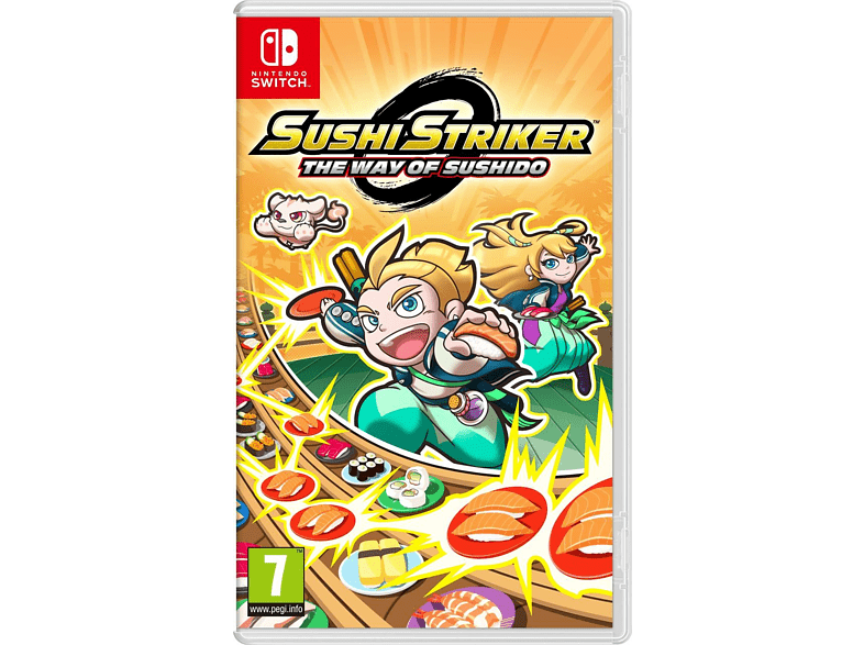 Sushi Striker The Way of Sushido Nintendo Switch gaming games switch games