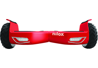 NILOX DOC 2 BLACK AND RED NEW E-Board (6.5 Zoll, Schwarz)