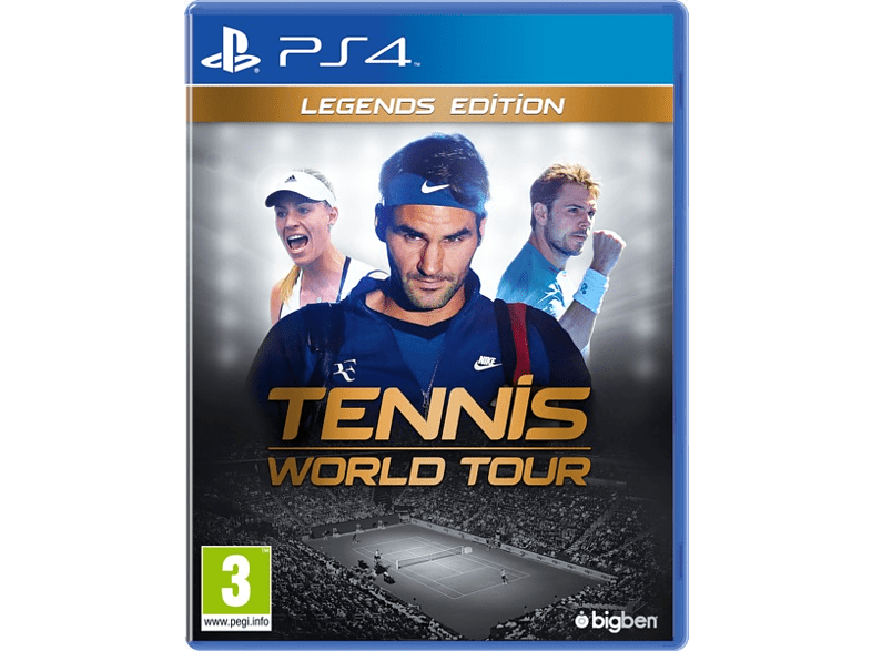 Tennis World Tour Legend Edition PlayStation 4 gaming games ps4 games