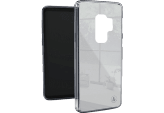 HAMA Cover Glass Backcover Samsung Galaxy S9 Glas/Thermoplastisches Polyurethan Hellgrau