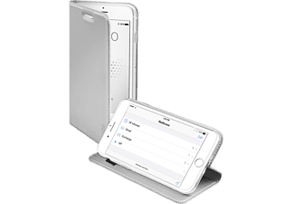 SBS MOBILE Book Case with Stand Function till iPhone 6/6S/7/8 - Silver