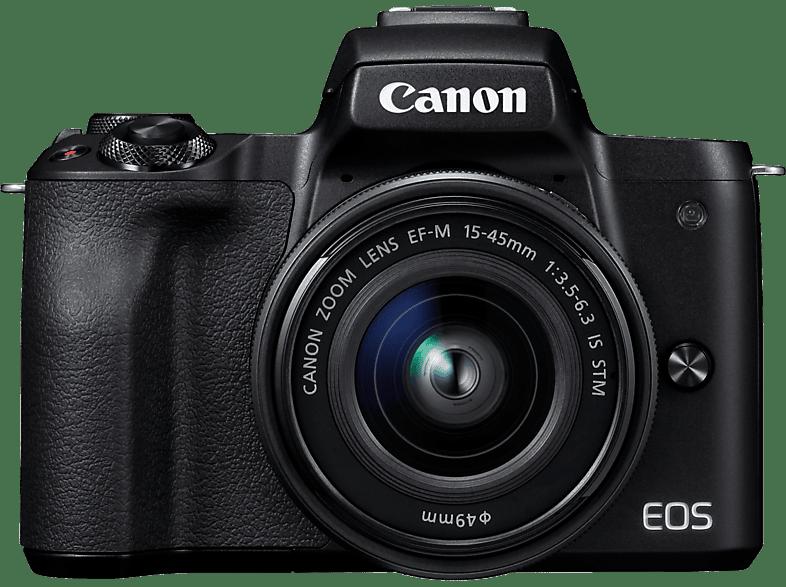 CANON EOS M50 Black 15-45 hobby   φωτογραφία φωτογραφικές μηχανές mirrorless cameras