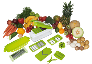 GENIUS 33541 NICER DICER PLUS 12-tlg. Hobel-Set