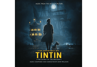OST/VARIOUS - The Adventures Of Tintin: The Secret Of The Unicorn (Ltd. Blue Vinyl LP) [Vinyl]
