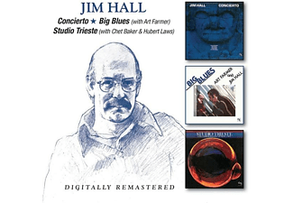 Jim Hall - Concierto/Big Blues/Studio Trieste [CD]