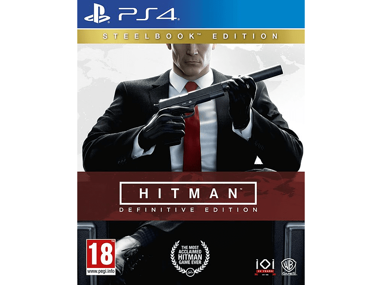 Hitman Definitive Edition PlayStation 4 gaming games ps4 games