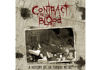 VARIOUS - Contract In Blood-A History Of UK Thrash Metal [CD]