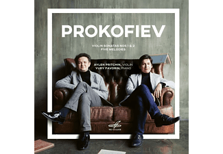 Aylen Pritchin, Yuri Favorin - Prokofiev: Violin Sonatas Nos 1 & 2 / Five Melodies [CD]