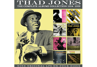 Thad Jones - The Classic Albums Collection: 1954-1959 [CD]