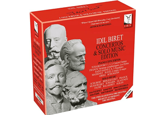 Idil Biret, Bilkent Symphony Orchestra, Philharmonic Orchestra - Concertos & Solo Music Edition [CD]