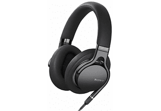 Sony MDR-1AM2 HiFi Oordopjes Over Ear Zwart Vouwbaar, High Resolution Audio, Headset, Ruisonderdrukk