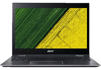 ACER Spin 5 (SP513-52N-862L), Convertible mit 13.3 Zoll Display, Core™ i7 Prozessor, 8 GB RAM, 256 GB SSD, Intel® UHD-Grafik 620, Steel Gray (Unibody Aluminium)
