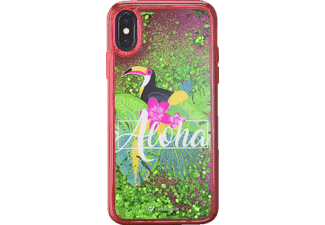 CELLULAR LINE Stardust Hardcover Leo Backcover Apple iPhone X Thermoplastisches Polyurethan Ausführung Aloha