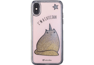 Stardust Hardcover Leo Backcover Apple iPhone X Thermoplastisches Polyurethan Ausführung Caticorn