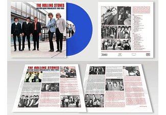 The Rolling Stones - British Radio Broadcasts  (Lim.Blue 180 Gr.LP) [Vinyl]