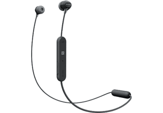 Sony WI-C300 Koptelefoon In Ear Bluetooth Zwart Headset