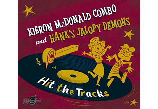 Kieron/hank's Jalopy Demons Mcdonald - Hit The Tracks (Split Album) [CD]