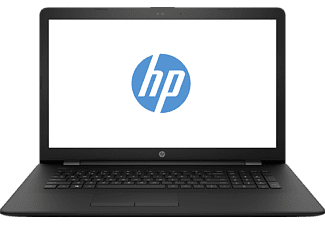 HP 17-bs533ng, Notebook mit 17.3 Zoll Display, Intel® Core™ i3 der sechsten Generation Prozessor, 4 GB RAM, 1000 GB HDD, Intel HD Graphics 520; Nicht verfügbar; Nicht verfügbar, Schwarz