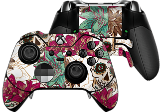 EPIC SKIN XBox Elite Controller Skin Sticker Skull Flower we , Skin Sticker, Skull Flower