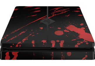 EPIC SKIN PS4 Slim Skin Sticker Blood schwarz , Skin Sticker, Blood Schwarz