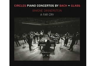 Simone/a Far Cry Dinnerstein - Circles: Klavierkonzerte von Bach & Glass [CD]