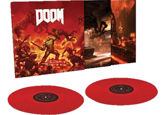 Mick Ost/gordon - DOOM (Original Game Soundtrack) (180g Red 2LP) [Vinyl]