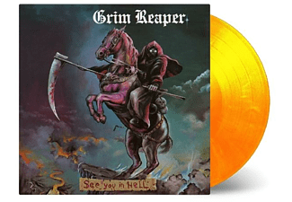 Grim Reaper - See You In Hell (ltd flammendes Vinyl) [Vinyl]
