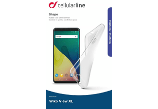 Shape Backcover Wiko View XL Thermoplastisches Polyurethan Transparent