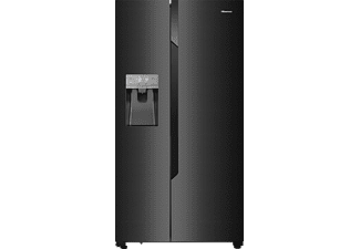 hisense side by side k hlschrank rs694n4tf2 mit wassertank. Black Bedroom Furniture Sets. Home Design Ideas