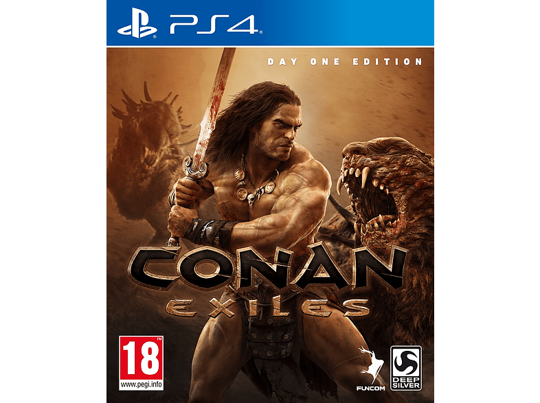 Conan Exiles Day One Edition PlayStation 4 gaming games ps4 games