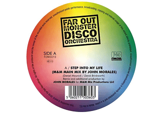 Far Out Monster Disco Orchestra - Step Into My Life/The Two Of Us-Rmxs (180g) [Vinyl]