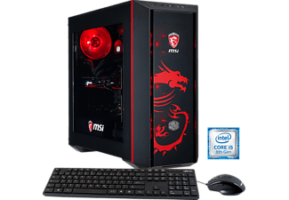 HYRICAN MSI DRAGON E.5922, Gaming PC mit Core™ i5 Prozessor, 16 GB RAM, 240 GB SSD, 1 TB HDD, Geforce® GTX 1060, 6 GB GDDR5 Grafikspeicher